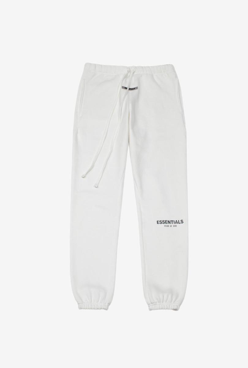 加厚加绒高街卫裤 白色