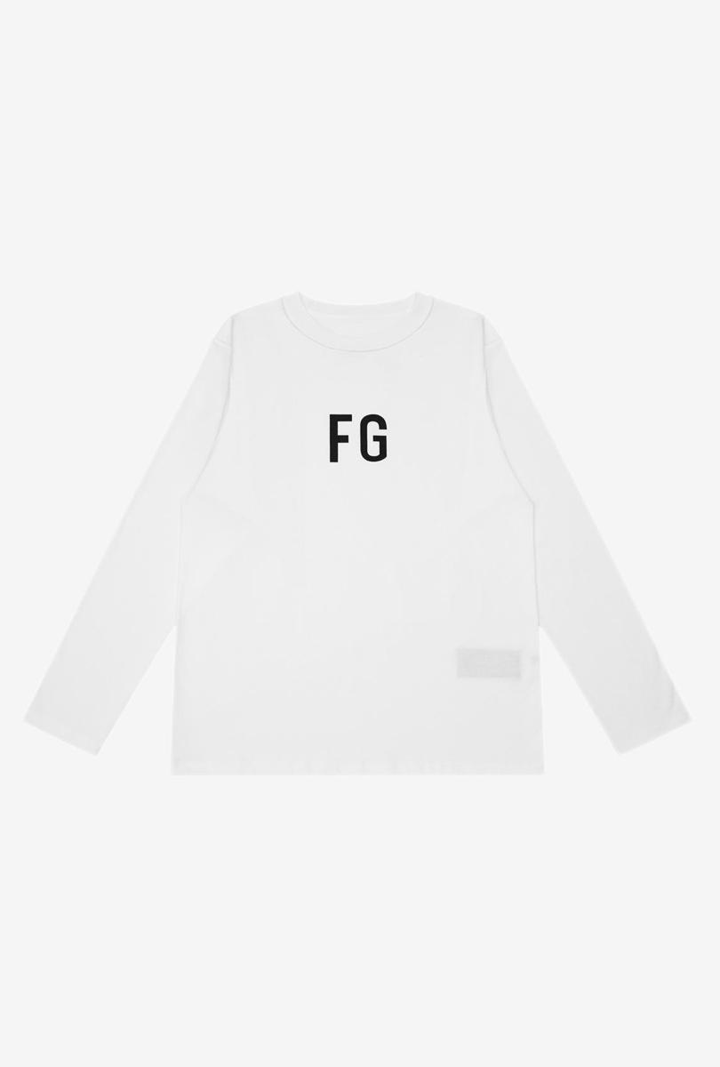 FG反穿设计长T恤 白色
